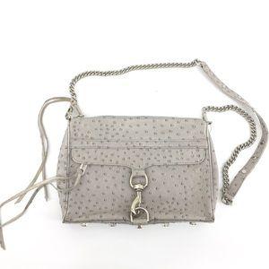 Rebecca Minkoff Ostrich Crossbody Bag Mini MAC